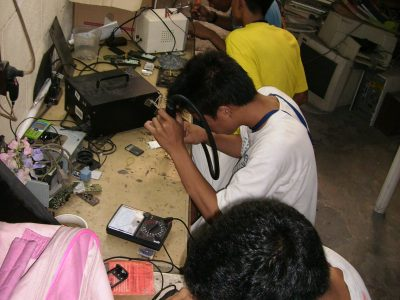 Repair skills training